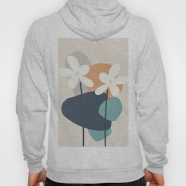 Abstract Flowers 3 Hoody