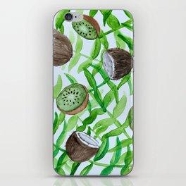 Tropical botancial iPhone Skin