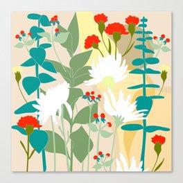 Valentine's Day Bouquet Canvas Print