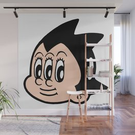 tripped out boy Wall Mural