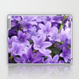 DREAMY - Purple flowers - Bellflower in the sun #1 Laptop & iPad Skin