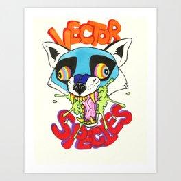 Vector Species Art Print