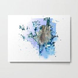 Bleu sky Metal Print