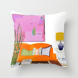 Living Room Throw Pillow