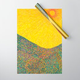 Here Comes the Sun - Van Gogh impressionist abstract Wrapping Paper