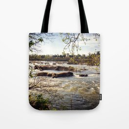 Spring River Tote Bag