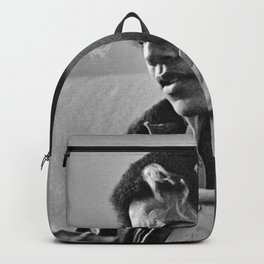 Young Barack Obama Smoking Backpack