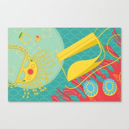 Emirati Treasures Canvas Print