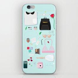 Modern Aphrodite Flat Lay iPhone Skin