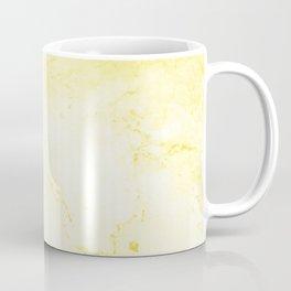 Yellow Marble Coffee Mug