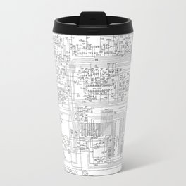elektrik mankind  (A7 B0111) Travel Mug