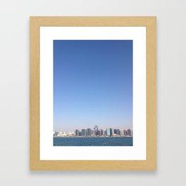 Abu Dhabi Framed Art Print