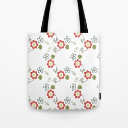 Ditsy Flower Chain Tote Bag