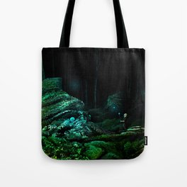 Silent Overgrowth Tote Bag