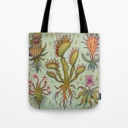 Carnivorous plants Tote Bag