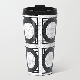 Beyond Zero in black and white Travel Mug