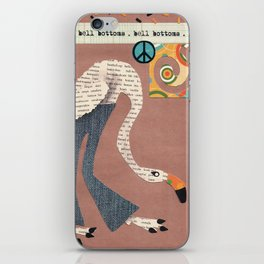 Birds Wear Clothes - Bell Bottoms iPhone Skin