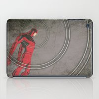 daredevil iPad Cases featuring Daredevil: Man Without Fear by Schnydz