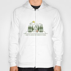 Tiny Forest by the Sea Hoody