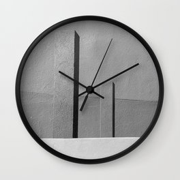 Concrete Posts 1 Wall Clock