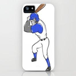 Baseball Brennball Softball Kickball Ballsport USA iPhone Case