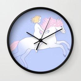 untamed 1 Wall Clock