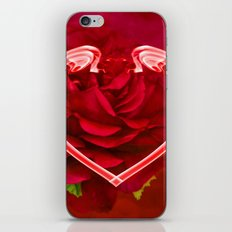 Hearts And Roses iPhone & iPod Skin
