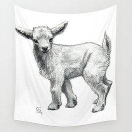 Little Goat Baby  SK134 Wall Tapestry