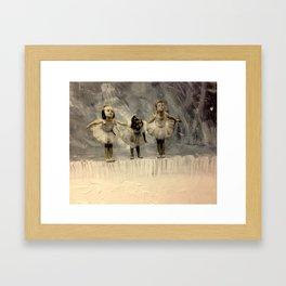 Tiny dancers Framed Art Print