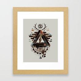All Impossible Eye Framed Art Print