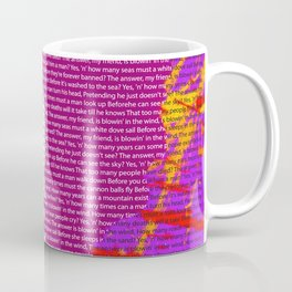 Bob Dylan wins 2016 Nobel Prize in Literature for his songwriting Coffee Mug