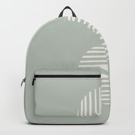 Inverted Circle Lines Backpack