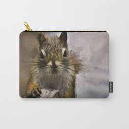 Morning Squirrel Carry-All Pouch