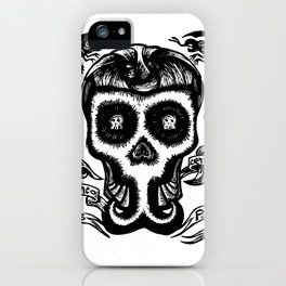 calavera soul iPhone Case