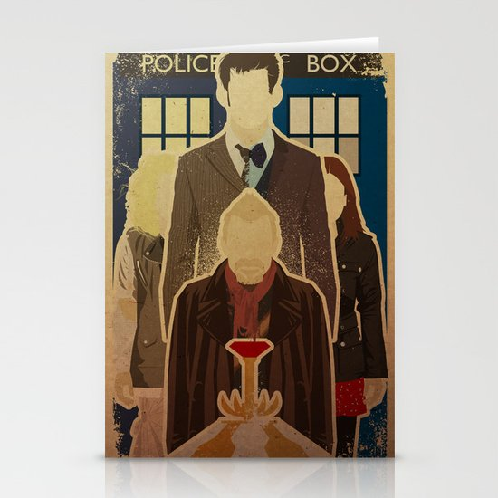 Day of the Doctor Stationery Cards