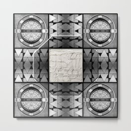 Magic Octagon Metal Print