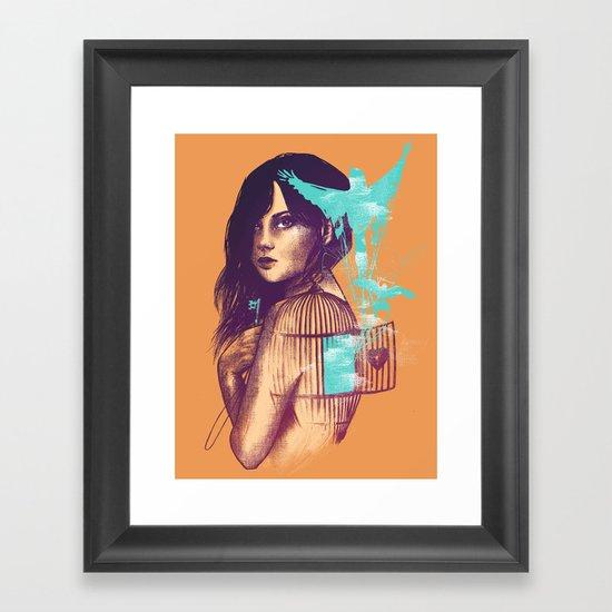 We Must Be Free Framed Art Print