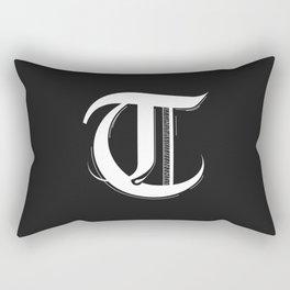 Letter T Rectangular Pillow