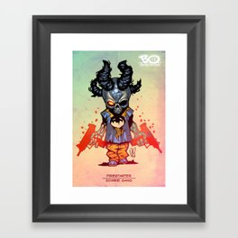 Z gang - Firestarter - Villains of G universe Framed Art Print