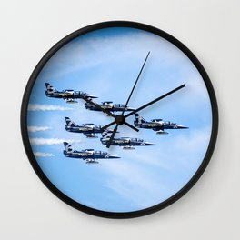 Breitling Jets In Formation Wall Clock