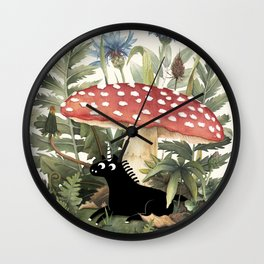 Tiny Unicorn Wall Clock