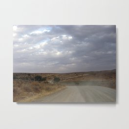 Zacatecas Country Path Metal Print