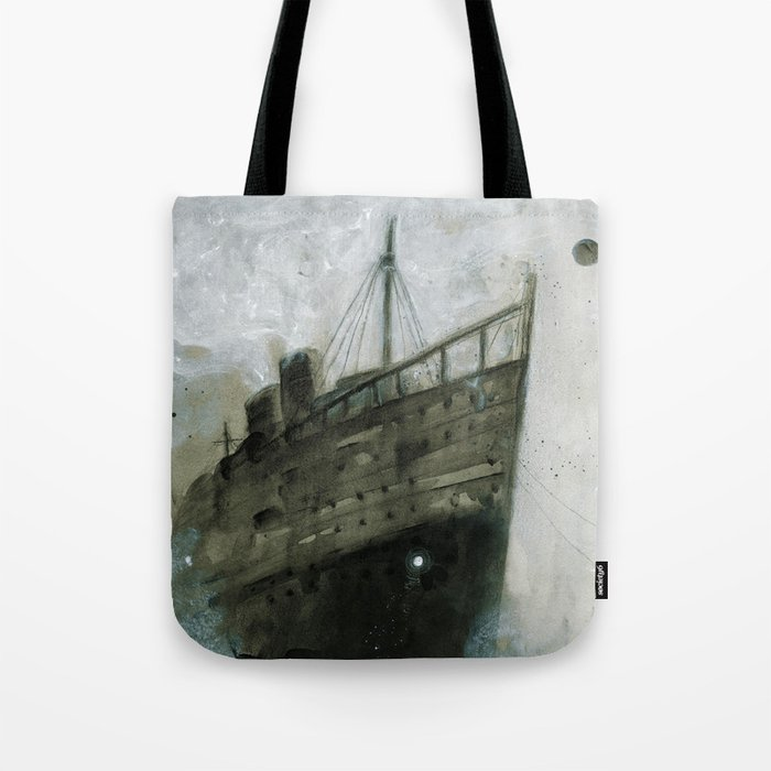 The Upper Berth Tote Bag
