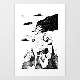 Quadrifoglio Art Print