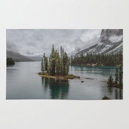 Landscape Maligne Lake Photography | Alberta | Canada Rug