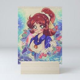 90's style: Majokko mako chan Mini Art Print