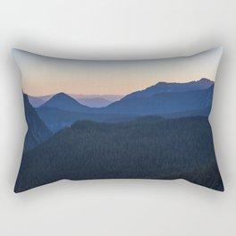 Silhouettes at Sunset Rectangular Pillow