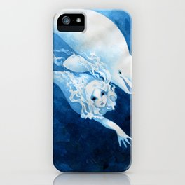 Beluga Mermaid iPhone Case