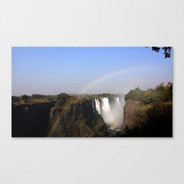 Victoria Falls Zambezi River Africa Canvas Print