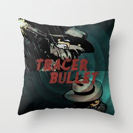 Calvin & Hobbes: Tracer Bullet Alternate Throw Pillow